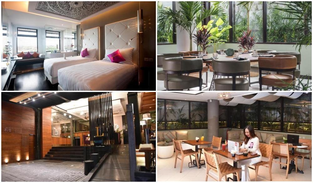 L Hotel Seminyak, Bali, Indonesia, hotel with woekspaces