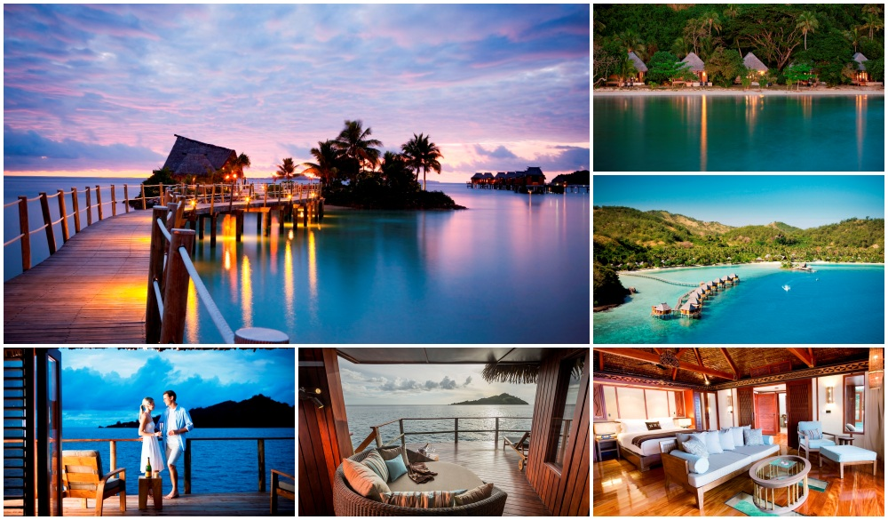 Likuliku Lagoon Resort, Fiji, overwater resort