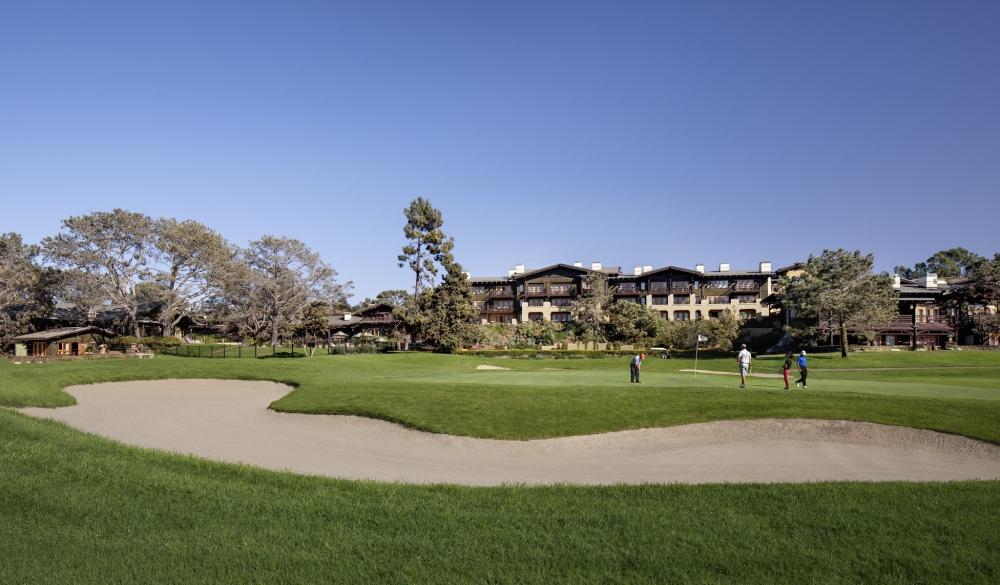Lodge at Torrey Pines, California, US luxury golf resort