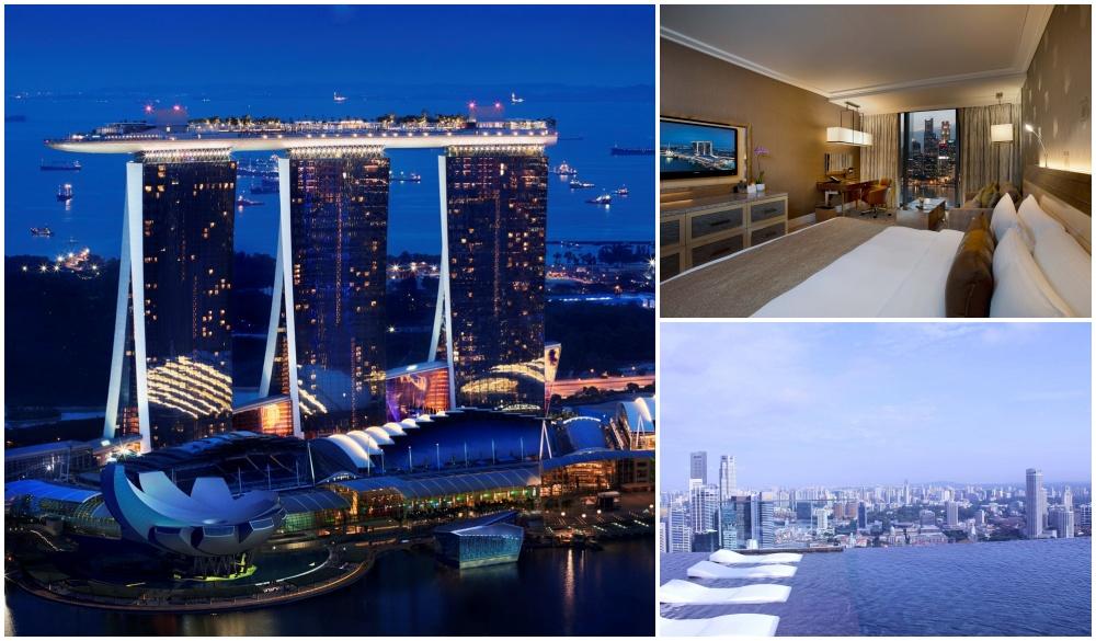 Marina Bay Sands, hotel near the most delicious travel destination