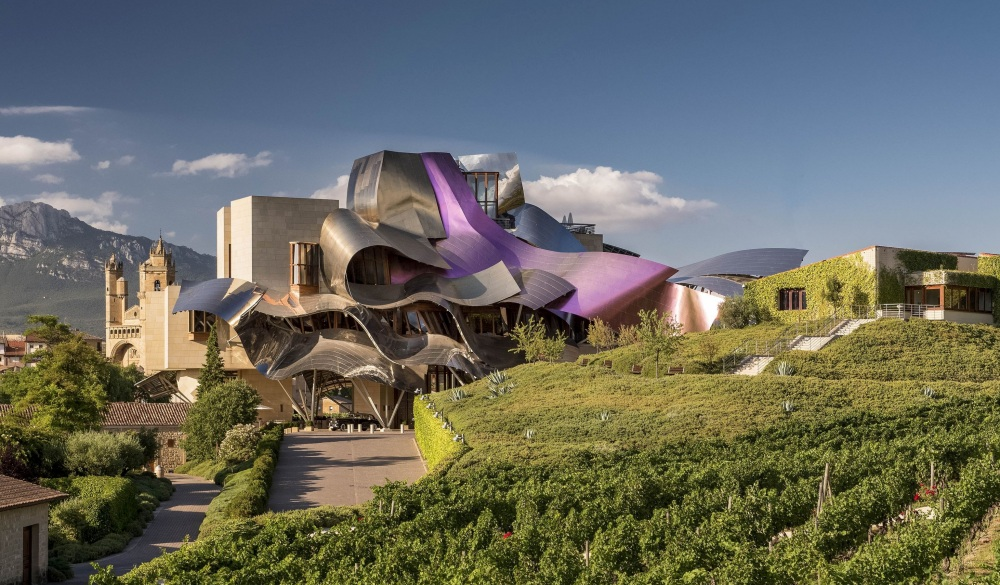 Marques de Riscal a Luxury Collection, Spain, unique hotel