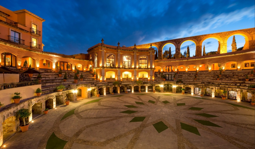 Quinta Real Zacatecas, Mexico, unique hotel