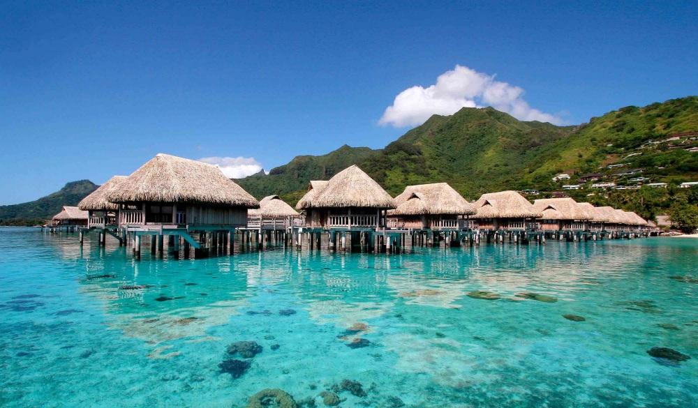Sofitel Moorea la Ora Beach Resort, French Polynesia, overwater resort
