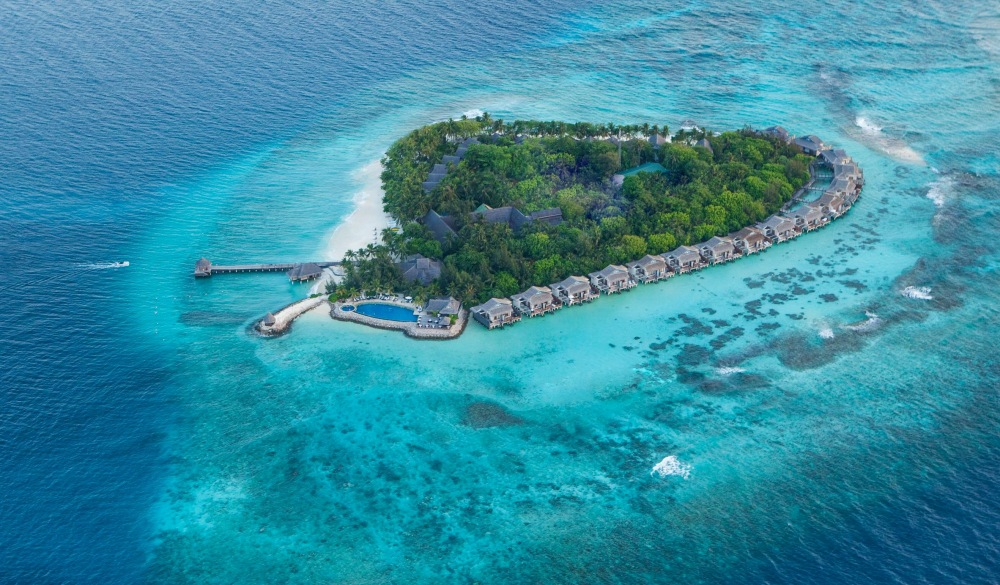 Taj Coral Reef Resort & Spa, Maldives, overwater resorts