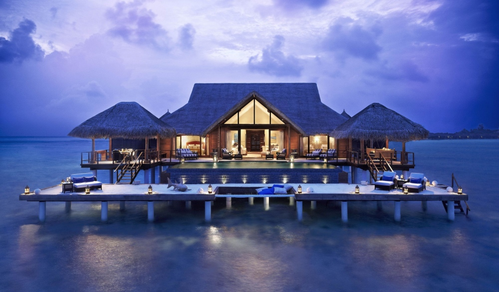 Taj Exotica Resort & Spa, Maldives, overwater resort