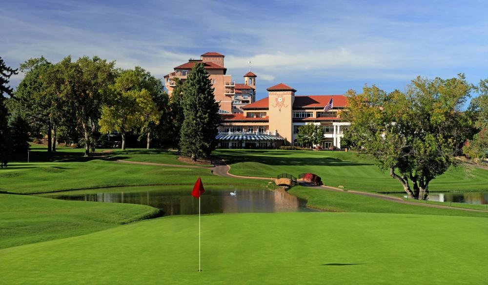 The Broadmoor, Colorado, US luxury golf resort