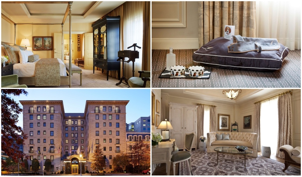 The Jefferson Hotel Washington D.C. , Pet-friendly hotel in the United States