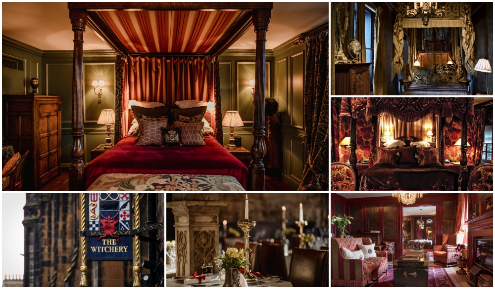 The Witchery by the Castle, unique hotel in Scotland