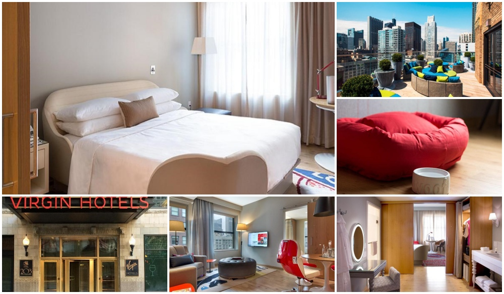 Virgin Hotels Chicago, pet-friendly hotels in the United States
