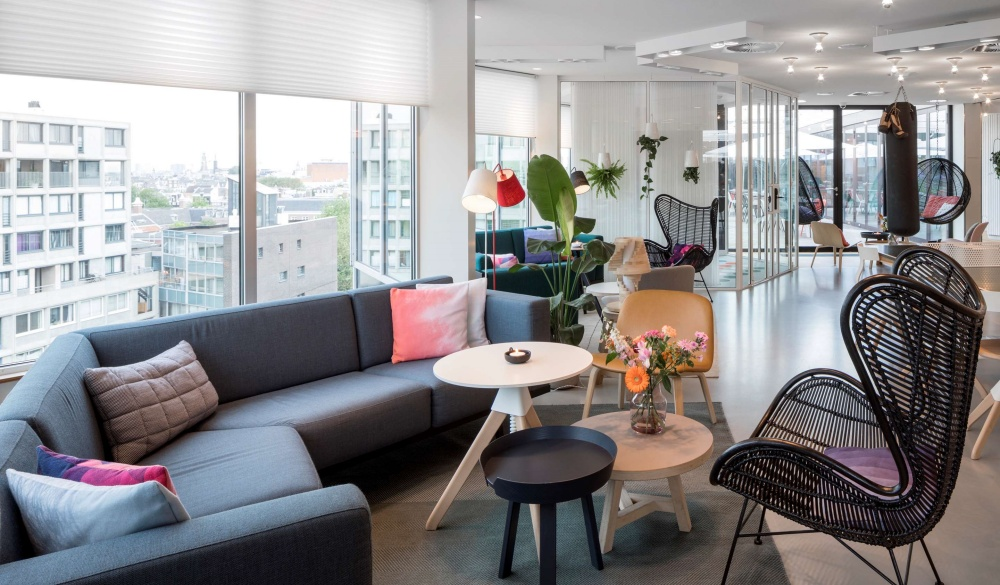 Zoku Amsterdam, The Netherlands, hotel with workspaces