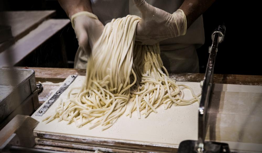 Japanese-style ramen, wheat noodles