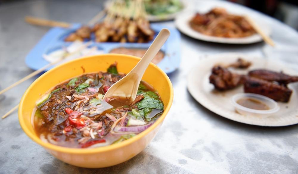 Penang laksa and Malaysian street food