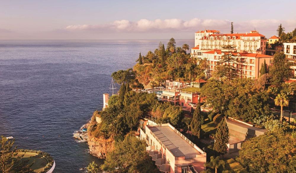 Belmond Reid's Palace – Funchal, Portugal, cliffside hotel in Portugal