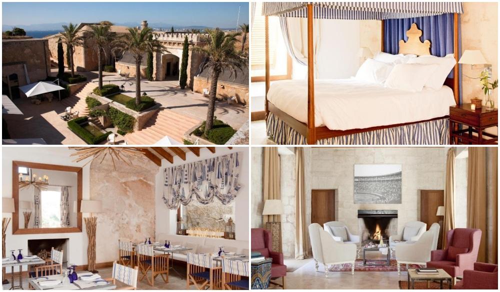 Cap Rocat – Mallorca, Spain, cliffside hotel in Spain