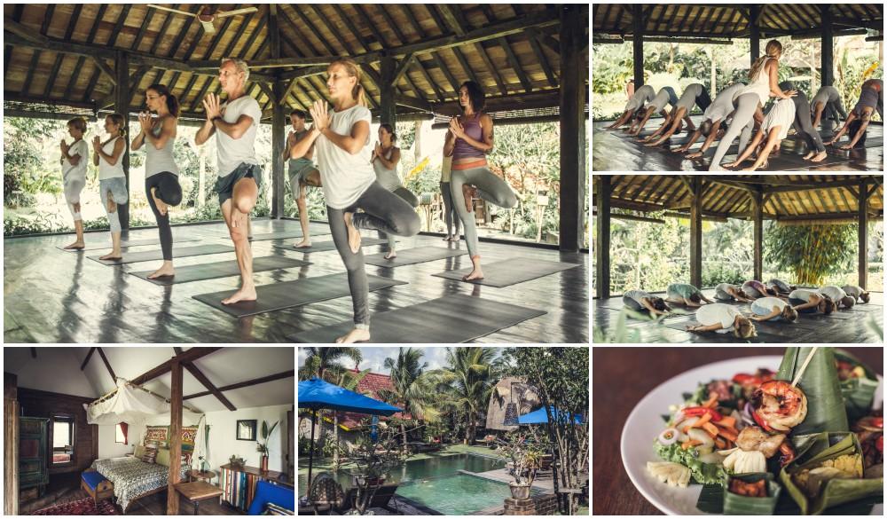 Desa Seni Resort Bali, Indonesia yoga retreat