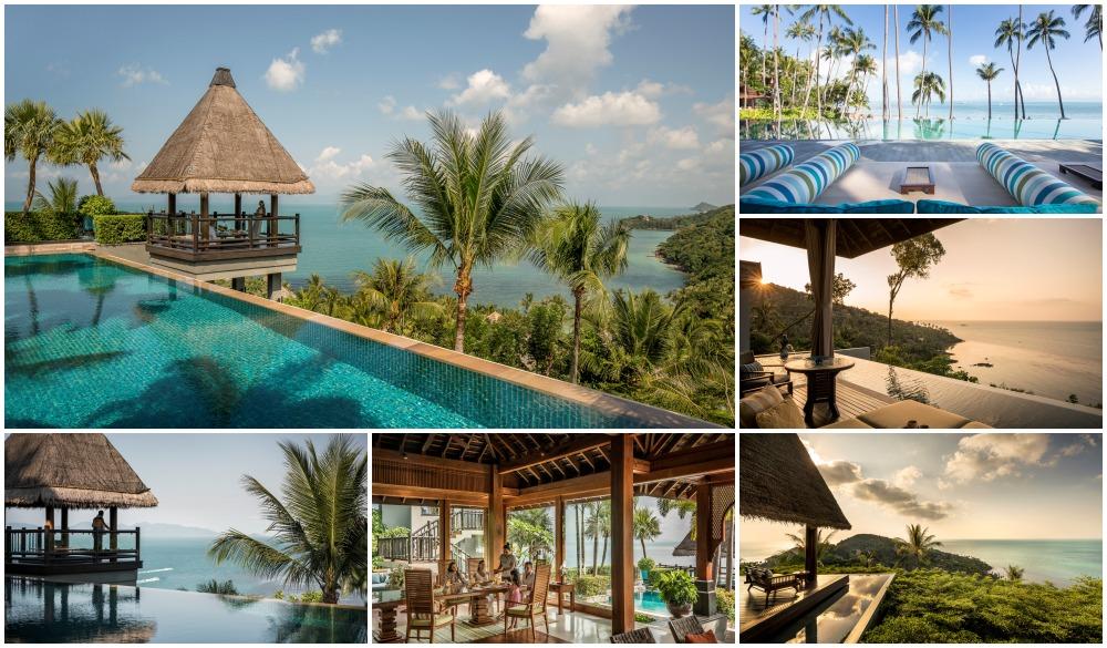 Four Seasons Resort Koh Samui – Thailand, cliffside hotel in Koh samui