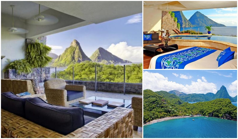 Jade Mountain – St Lucia, cliffside hotel in St. Lucia