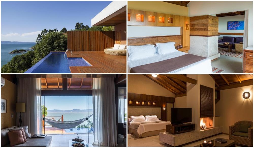 Ponta dos Ganchos – Brazil, cliffside hotel in Brazil