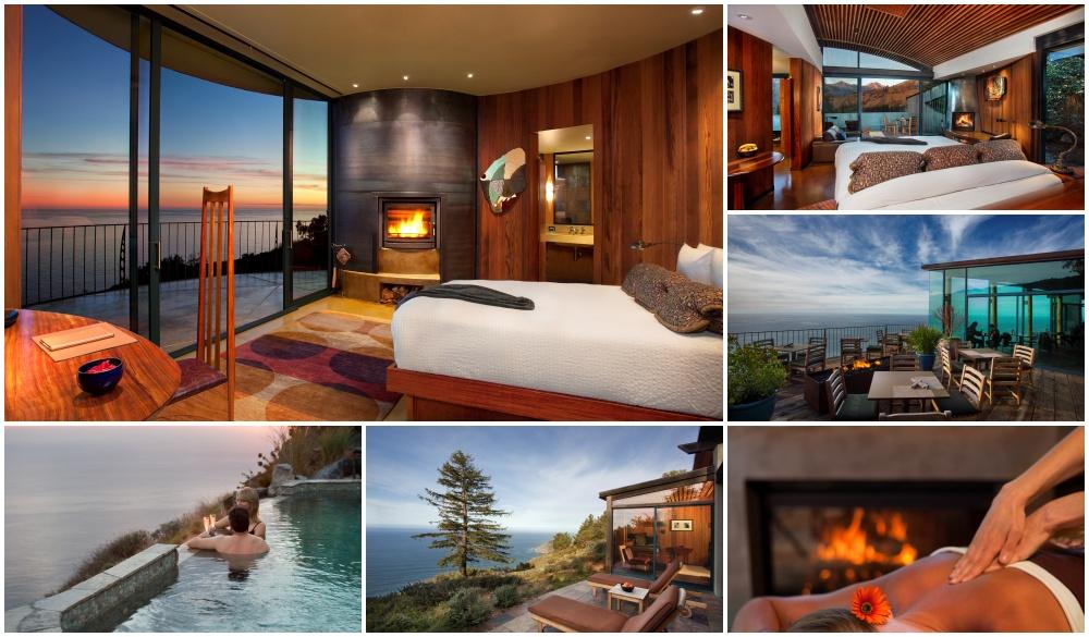 Post Ranch Inn – Big Sur, California, cliffside hotel in California
