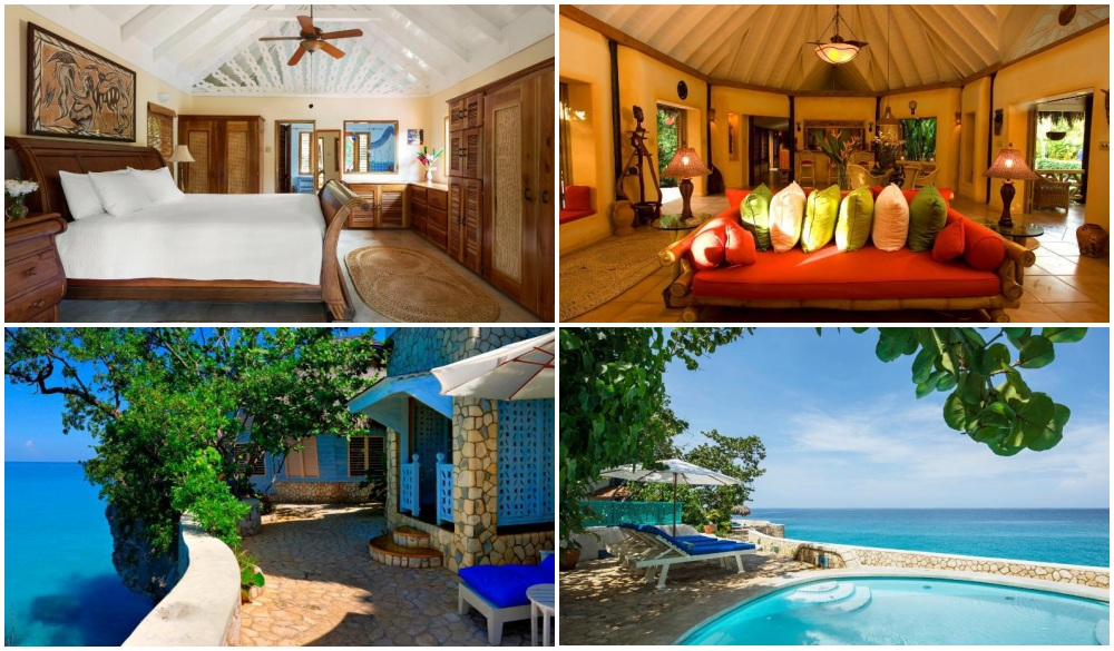 The Caves – Negril, Jamaica, cliffside hotel in Jamaica