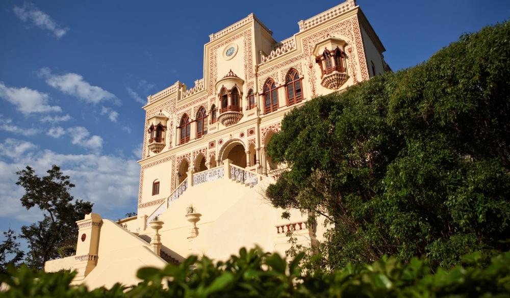Exterior of the Maharajah's Palace,