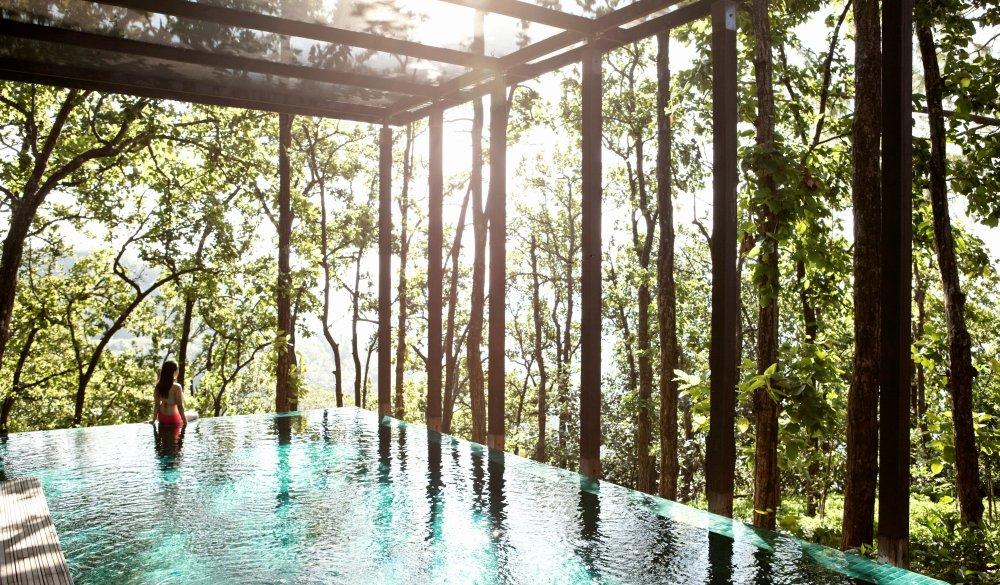 Ganga Pool Villa at Ananda, best yoga rereats