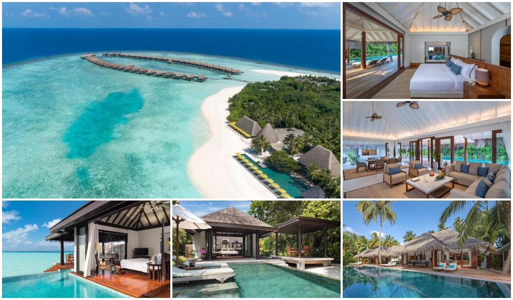 Anantara Kihavah Villas, The Maldives, hotel with underwater rooms