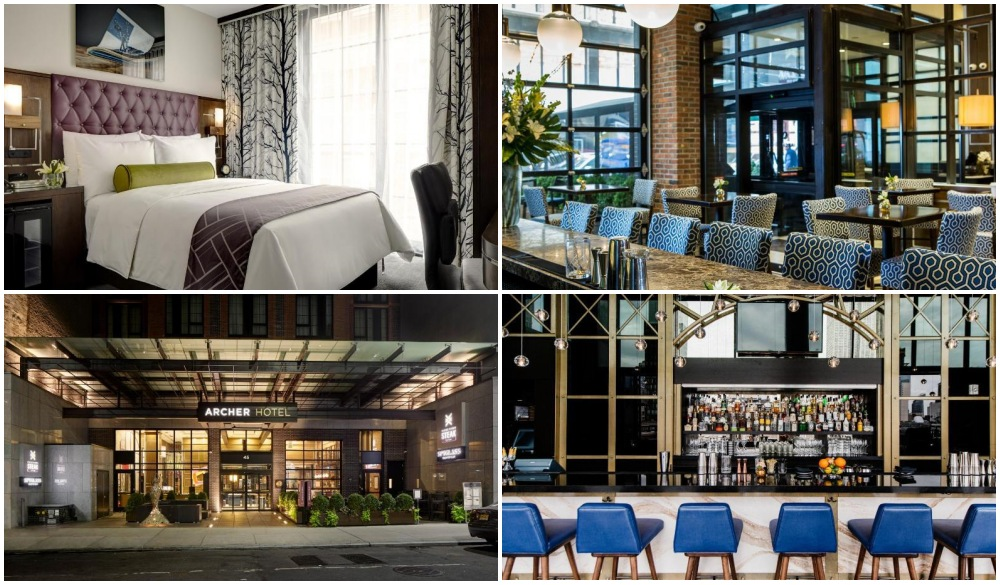 Archer Hotel, nyc hotel