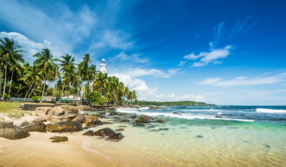 Aragum Bay in Sri Lanka
