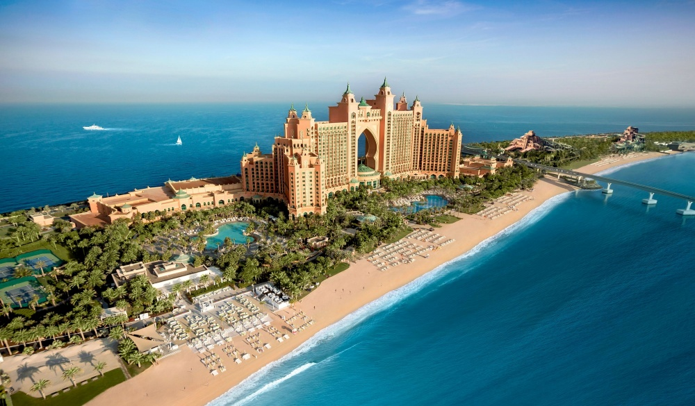 Atlantis The Palm, Dubai hotel with underwater rooms