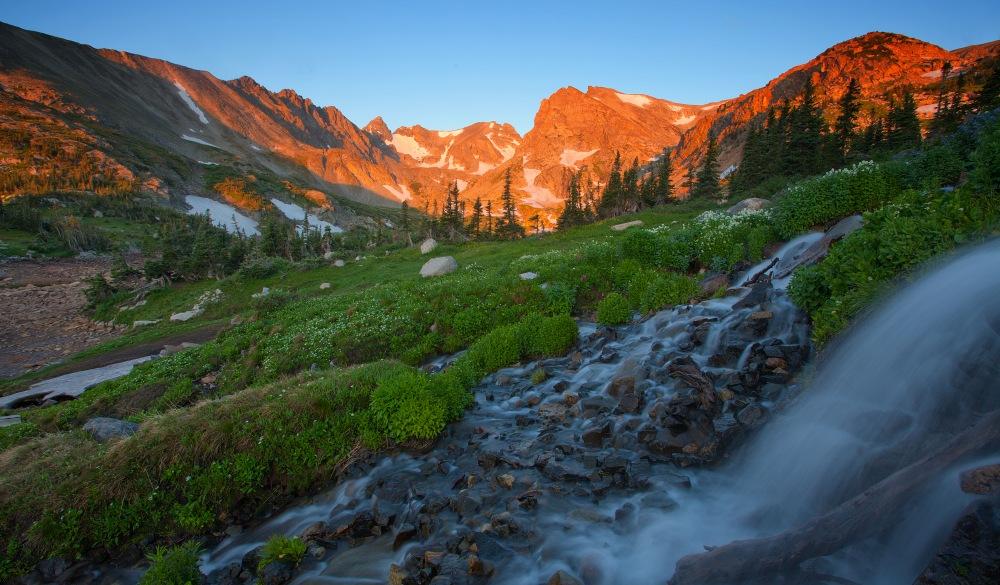 Indian Peaks Wilderness near Boulder, Colorado