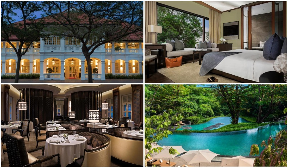 Capella Singapore, best for staycation in Singapore
