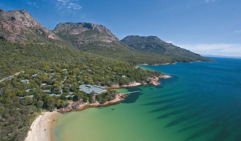 Freycinet Lodge, Tasmania, top eco-friendly hotel