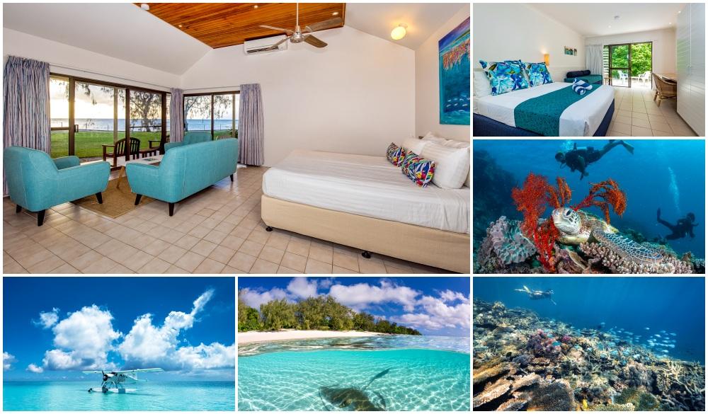 Heron Island Resort, Queesland,, top eco-friendly resort in Australia