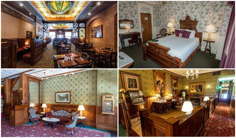 Historic Strater Hotel, hotel for Colorado road trip