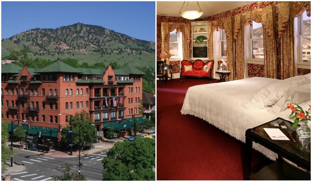 Hotel Boulderado, hotel for Colorado road trip