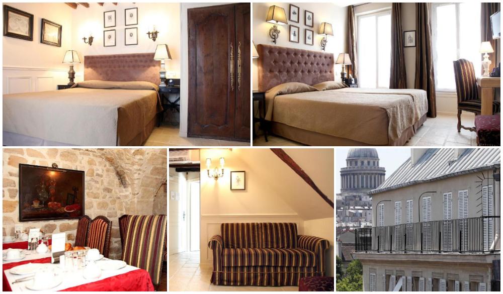 Hotel Saint-Louis en l'Isle, Paris neighbourhood
