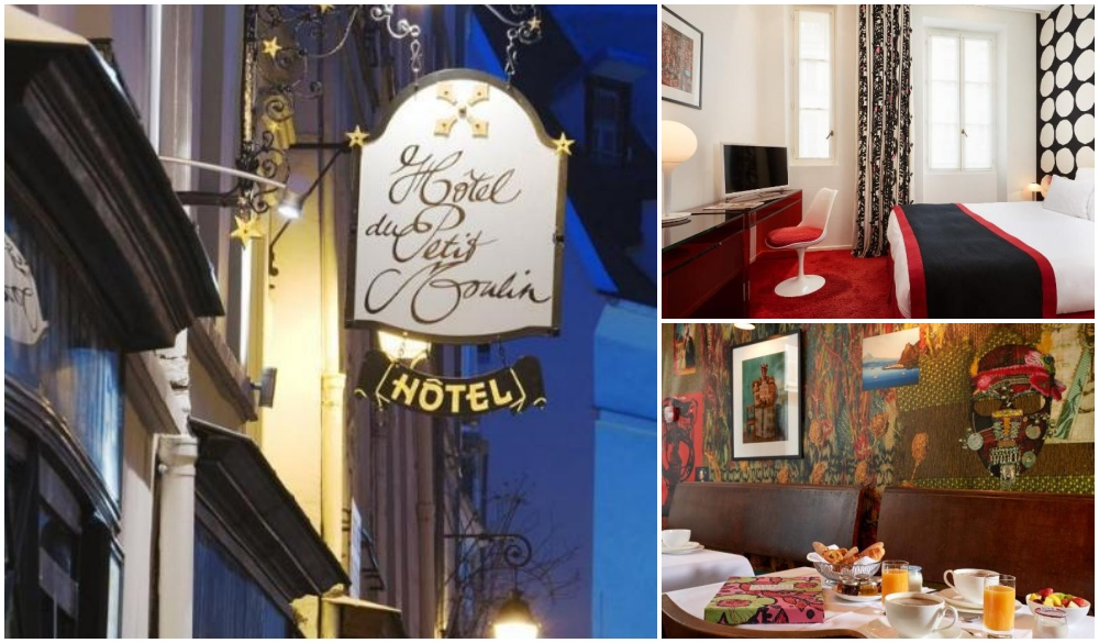 Hotel du Petit Moulin, paris neighbourhood