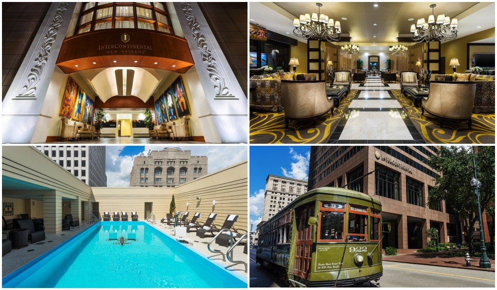 InterContinental New Orleans, Top hotel in Central Business District
