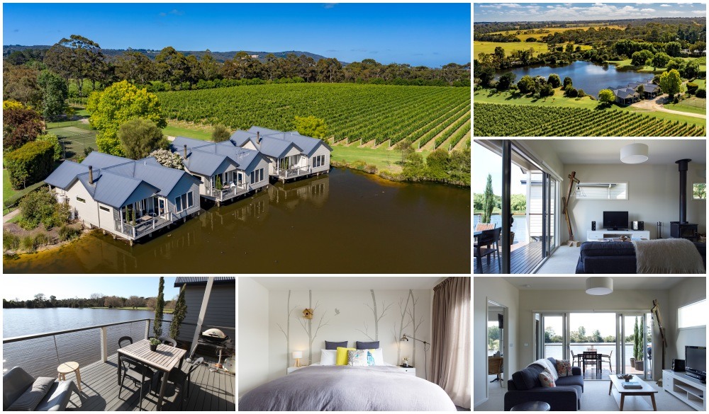 Lakeside Villas at Crittenden Estate, top hotel for wine tasting in Australia