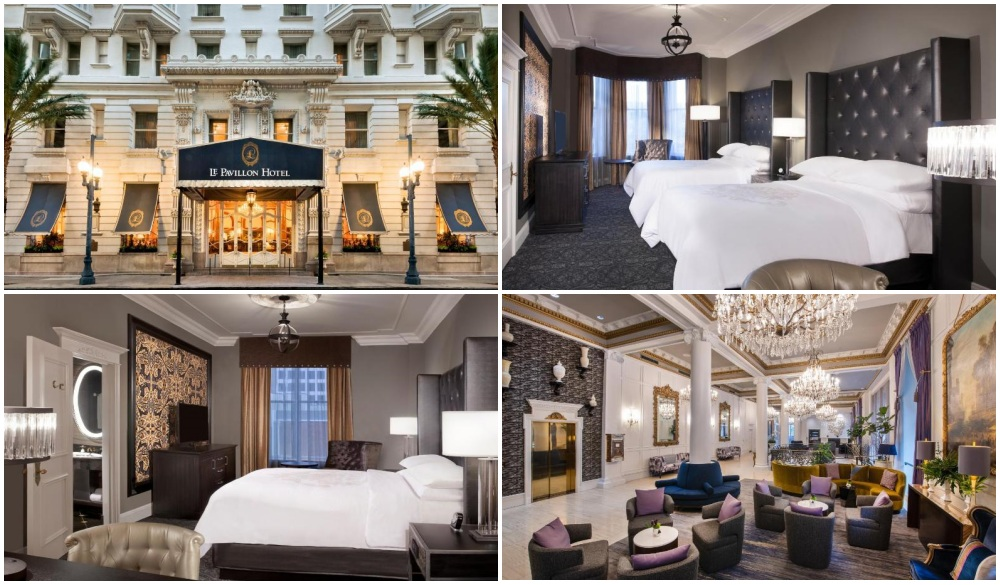 Le Pavillon Hotel New Orleans, top hote in central business district