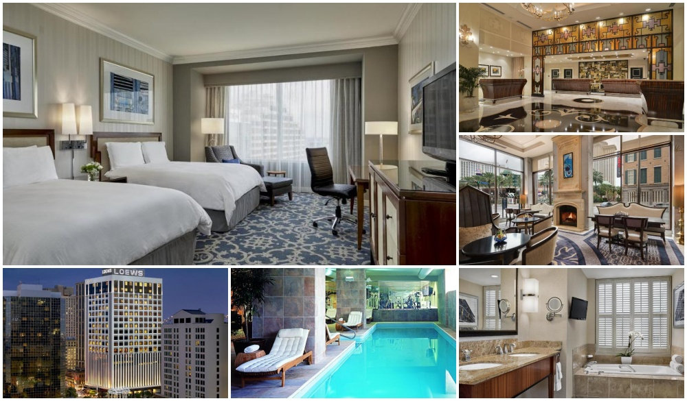 Loews New Orleans Hotel, top hotel in central business district