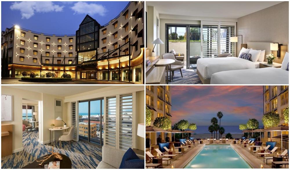 Loews Santa Monica Beach Hotel, top hotel for route 66 road trip
