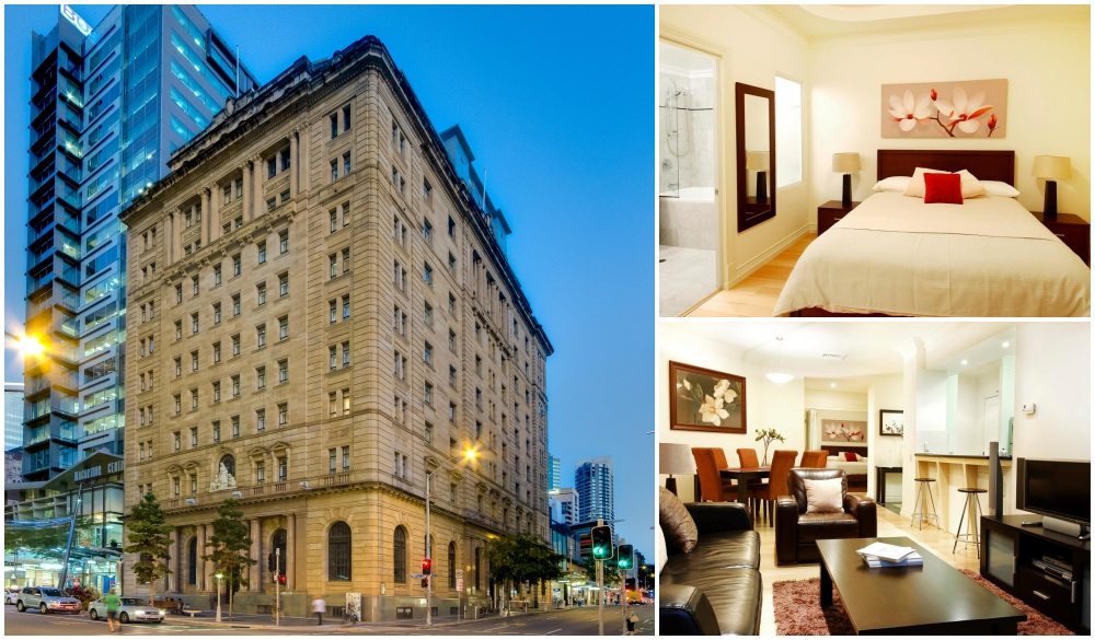 MacArthur Chambers Apartment Hotel, serviced apartments in Brisbane