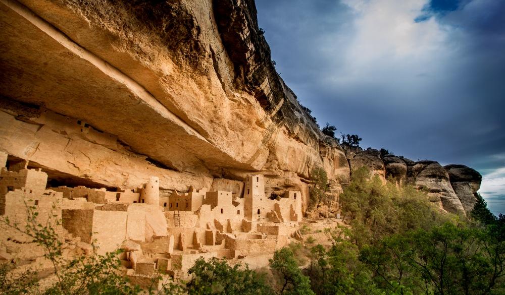 USA, Colorado, Montezuma, Palace and Mesa Verde National Park