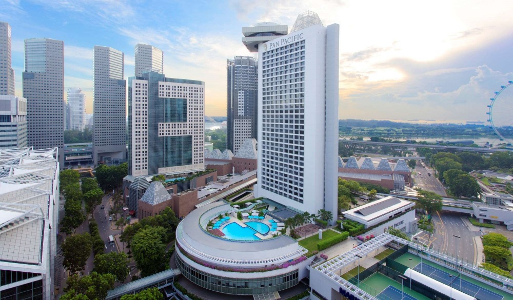 Pan Pacific Singapore, best for staycation
