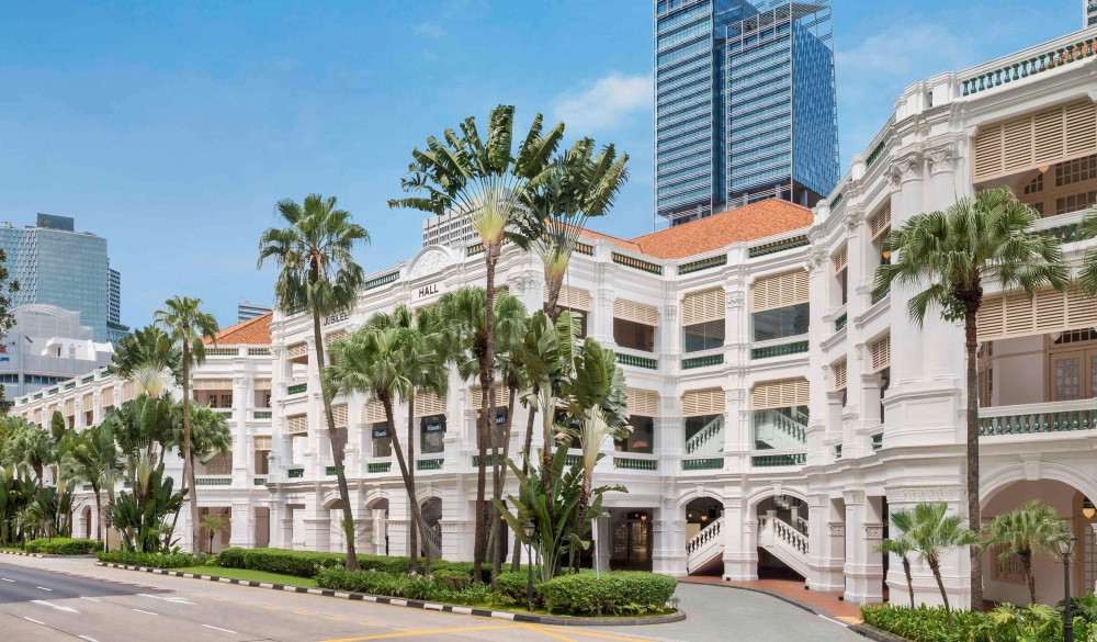 Raffles Hotel Singapore, best for staycation in Singapore