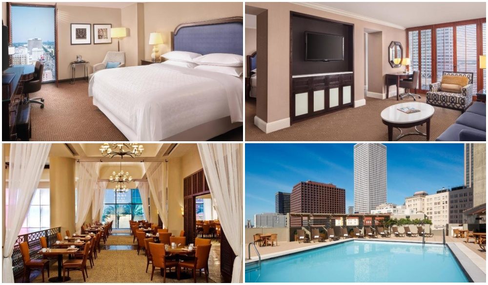 Sheraton New Orleans Hotel, top hotel in New Orleans Central Business District