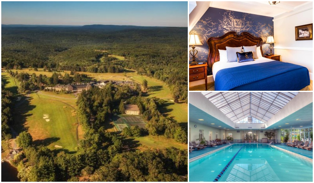 Skytop Lodge, top hotel for a road trip from New york