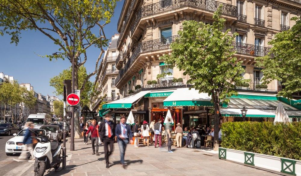 Saint Germain in Paris.